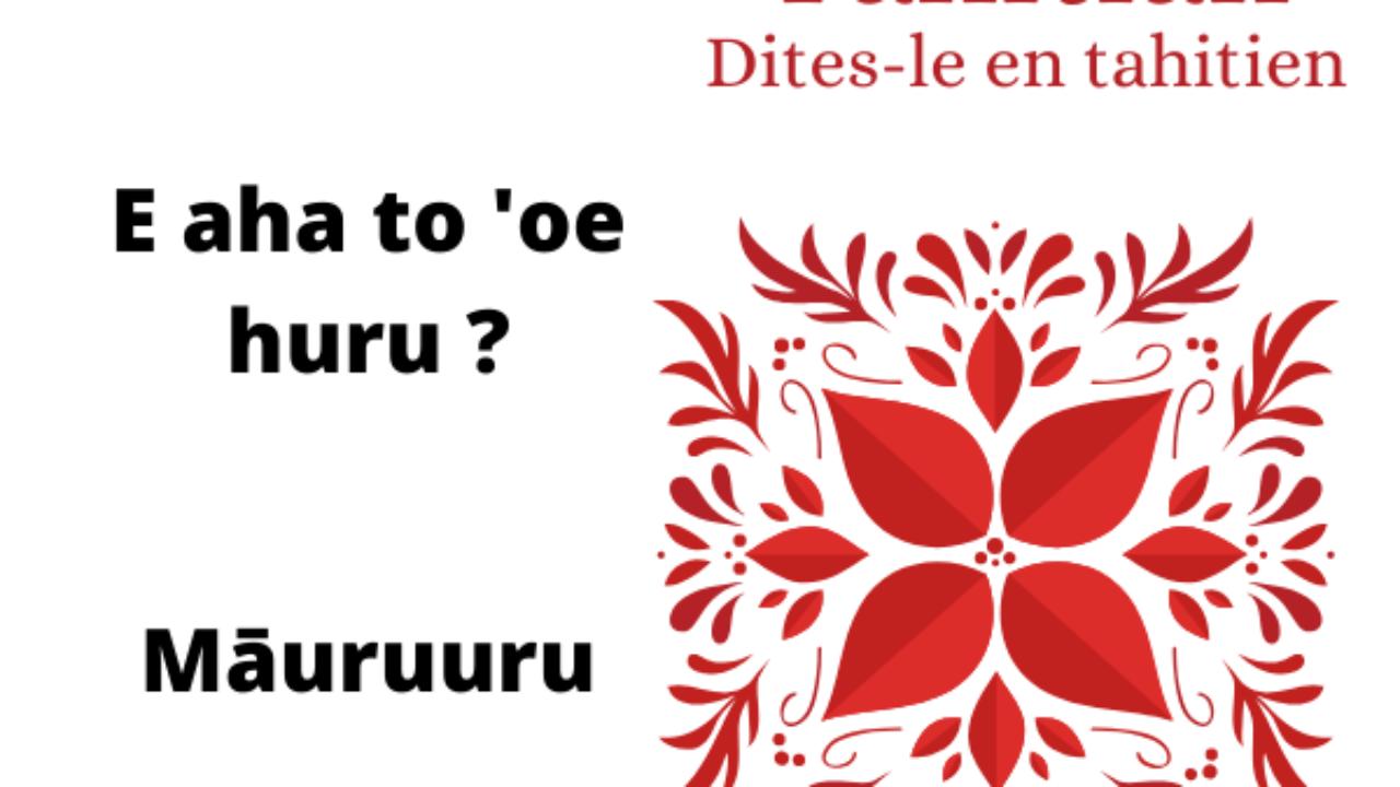 What language is spoken in Bora Bora?