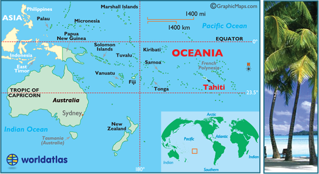 Where is the French Polynesia located?