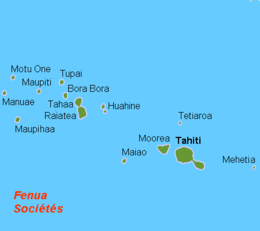 Who claimed Tahiti for France?