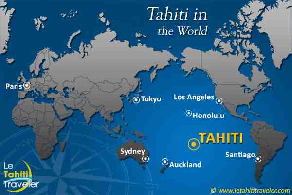 Is Tahiti part of France?